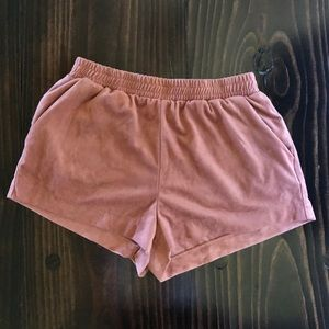 Forever 21 Suede Shorts